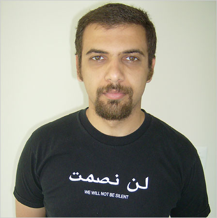 Raed Jarrar (Photo New York Times)