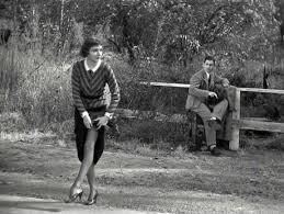 Hitchhiking scene  (It Happened One Night, Capra)