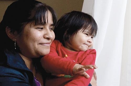 Cirilia Balthazar Cruz (Photo Sharon Steinmann)