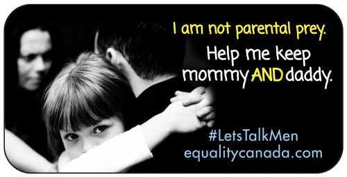 CAFE parental alienation and fatherlessness billboard adds.